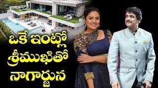 Anchor Srimukhi With Akkineni Nagarjuna   Star Maa Bigg Boss Telugu Season 3   Top Telugu TV