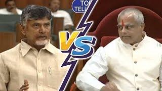 Chandrababu Naidu VS AP Speaker | AP Assembly LIVE | Andhra Pradesh Assembly Budget Session 2019