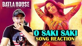 Batla House | OSAKI SAKI Song Reaction | Nora Fatehi, John Abraham