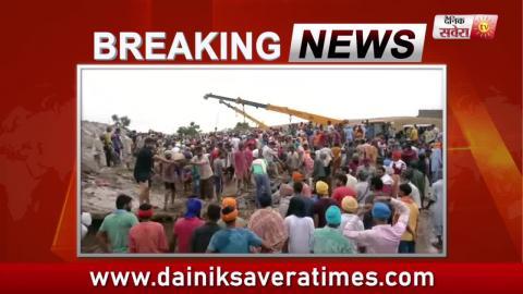 Breaking : Bathinda में गिरी गौशाला की छत्त, मलबे में दबी सैकड़ो गाय
