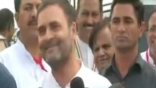 Shri Rahul Gandhi addresses media after the court hearing in Ahmedabad, Gujarat