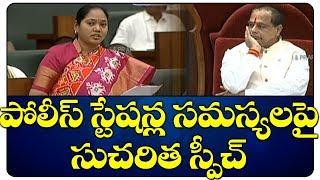 Mekathoti Sucharitha Speech in AP Assembly   AP Budget 2019   CM Jagan   Top Telugu TV