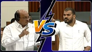 War of Words : Buchaiah Chowdary VS Anil Kumar Yadav | AP 15th Legislative Assembly Highlights Day 3