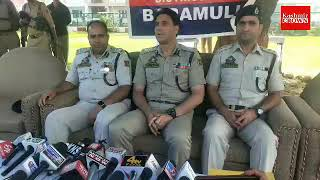 Police  arrested two OGW  under ground  workers in Baramulla SSP Ab Qayoom