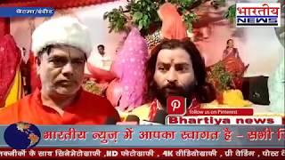 बेटमा में रुक्मणी विवाह के चलते भगवान का रूप धारण किए हुए कृष्ण जी की निकली बारात। #bn