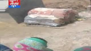 માધવપુરની સીમમાં દીપડો ઘુસી જતા મચી નાસભાગ