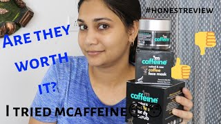 Coffee Infused Skin Care for Normal to Oily Skin! mcaffeine review| Giveaway worth Rs 500