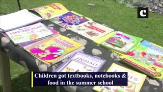 40 Rashtriya Rifles summer school for children of Gujjars, Bakerwals in J&K's Dhoke