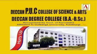 Hurry Up Free Admission Deccan Degree College Gulbarga
