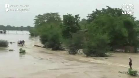 बाढ़ के अब तक बिहार में 67 और असम में 27 लोगो की हुई मौत