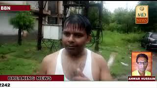 नालागढ़ में बारिश ने बरपाया कहर,रिहायशी घरों को भी नुकसान