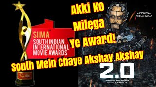 Akshay Kumar Becomes Bollywood 1st A-List Actor To Be Nominated In South  SIIMA Award 2019 - 2PointO video - id 36199d9d7b37ce - Veblr Mobile