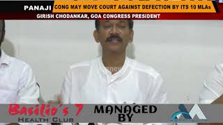 Cong May Move Court Against Defection By Its 10 MLAs