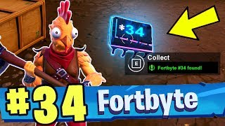 FORTBYTE 34 - Found Between A Fork And Knife (Fortnite Battle Royale)
