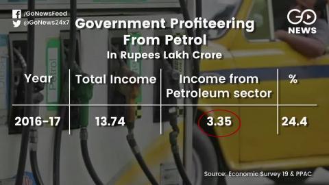 सरकार कमाई के लिए पेट्रोलियम सेक्टर का कर रही है इस्तेमाल, क्या सरकार के पास केवल एक ही ज़रिया है?