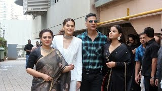 Mission Mangal Star Cast GRAND ENTRY At Trailer Launch | Akshay Kumar, Taapsee, Vidya Balan