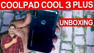 Coolpad cool 3 Plus unboxing and quick review telugu