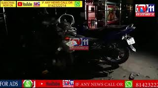 CAR HIT FOOTPATH LATE NIGHT HOURS  IN BOWENPALLY POLICE STATION LIMITS SECUNDREBAD