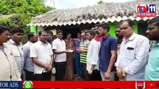 VANGARA YOUTH ASSOCIATION DONATED CASH TO [BHARATI] BANGARA VILLAGE SRIKALKAKULANM