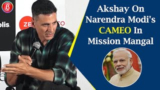 Akshay Kumar Reacts To Rumours Of Narendra Modis Cameo In Mission Mangal