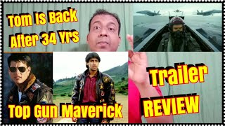 Top Gun Maverick Trailer Vs Top Gun Trailer Review Tom Cruise Is Back After 34 Yrs In This Sequel