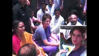 Sonbhadra firing case: It looks like I am arrested, says Priyanka after being detained