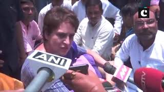Priyanka Gandhi detained on her way to UP's Sonbhadra to meet families of victims