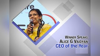Leadership has nothing to do with gender​: Alice G Vaidyan​​ |ETPWLA