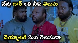 నేను డాన్ అని నీకు తెలుసు దెయ్యలకి ఏమి తెలుసురా - Latest Telugu Movie Scenes