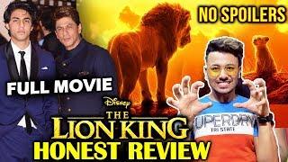The Lion King Honest Review | No Spoilers | Shahrukh Khan, Aryan Khan DUBBING