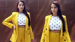 Batla House Nora Fatehi Snapped At T series For Her Song O Saki Saki