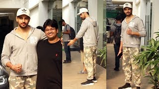 Siddharth Malhotra Spotted At Sunny Super Sound For Dubbing Of Film