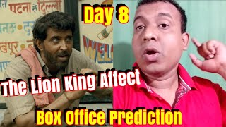 Super 30 Box Office Prediction Day 8 Hrithik's Film Collection To Be Affected By The Lion King