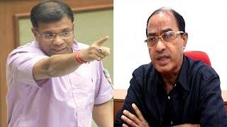 Assembly Witnesses Banter Between Ravi Naik & Vishwajit Rane