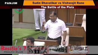 Sudin Dhavalikar vs Vishwajit Rane - The Battle of the Plots