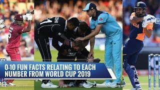 Fun facts of Cricket World Cup 2019
