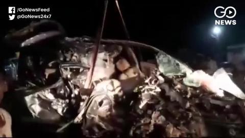 Maharashtra में एक दर्दनाक सड़का हादसा, कार की टक्कर ट्रक से हुई 9 की मौत