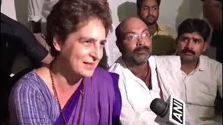 मैं नरसंहार का दंश झेल रहे गरीबों से मिलने आई हूं, उनसे मिलने का मेरा निर्णय अडिग है :प्रियंका गांधी