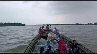 """ধুবুৰীৰ _""""দক্ষিণ পাৰৰ বানপানীৰ"""" পৰিস্থিতি চাওঁক!  Dhubri  flood affected area"""