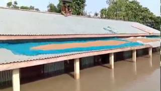 বানপানী ধুবুরী Fokirgonj.....Dhubri (Assam) flood affected area