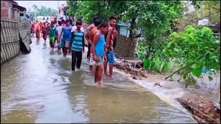 আমার গাঁওত পানী আহি পালে || S-Mankachar _Jordang pt-2ft. dhubri flood status..
