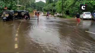 Water enters at Sree Madanantheswara Sidhivinayaka Temple in Kerala's Kasaragod