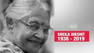 Sheila Dikshit no more, tributes pour in | RIP Sheila Dikshit (1938 - 2019) | Economic Times