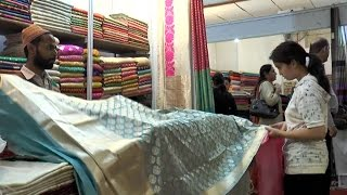 Silk Fabrics From Across Country Brought Under One Roof At Expo