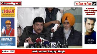 AAP leader Sanjay Singh defends Bhagwant Mann on alcoholic allegations.