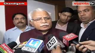 Haryana cm Khattar opposes punjabs  bill on syl