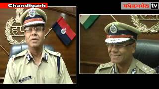 Haryana's newly appointed Director General Police, Mr  K P Singh