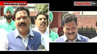 Dr Raj Kumar Verka  meet Punjab DGP