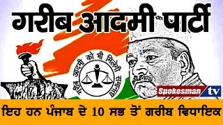 These are the 10 poorest MLAs of Punjab