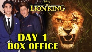 The Lion King India DAY 1 OFFICIAL BOX OFFICE Collection | Shahrukh Khan, Aryan Khan